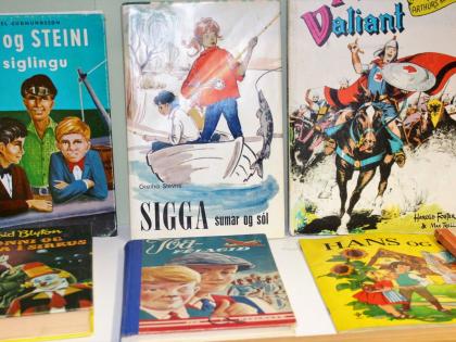 детские книги и комиксы из Исландии, в том числе Принц Валиум:), фото Стасмир, photo Stasmir