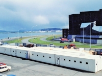 контейнерный завод, фирма АйсМак, IceMac, Reykjavik, Iceland, modular container fish-processing plant