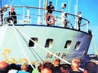 Российский корабль Мир, Санкт-Петербург, самый быстрый парусник в современной истории