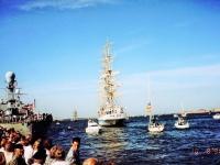 Российский корабль Мир, Санкт-Петербург, самый быстрый парусник в современной истории, Копенгаген, Дания