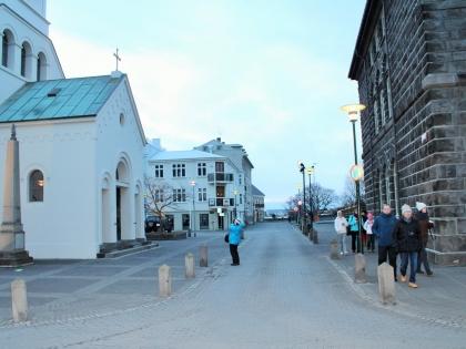 Dómkirkjan í Reykjavík - главный кафедральный собор в Рейкьявиуке, фото Стасмир, photo Stasmir