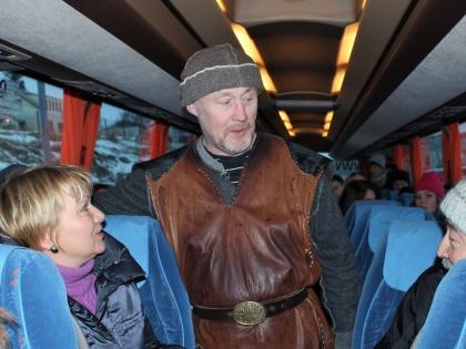 нападение викингов на автобус с туристами в Хафнарфьёрдюре, фото Стасмир, photo Stasmir