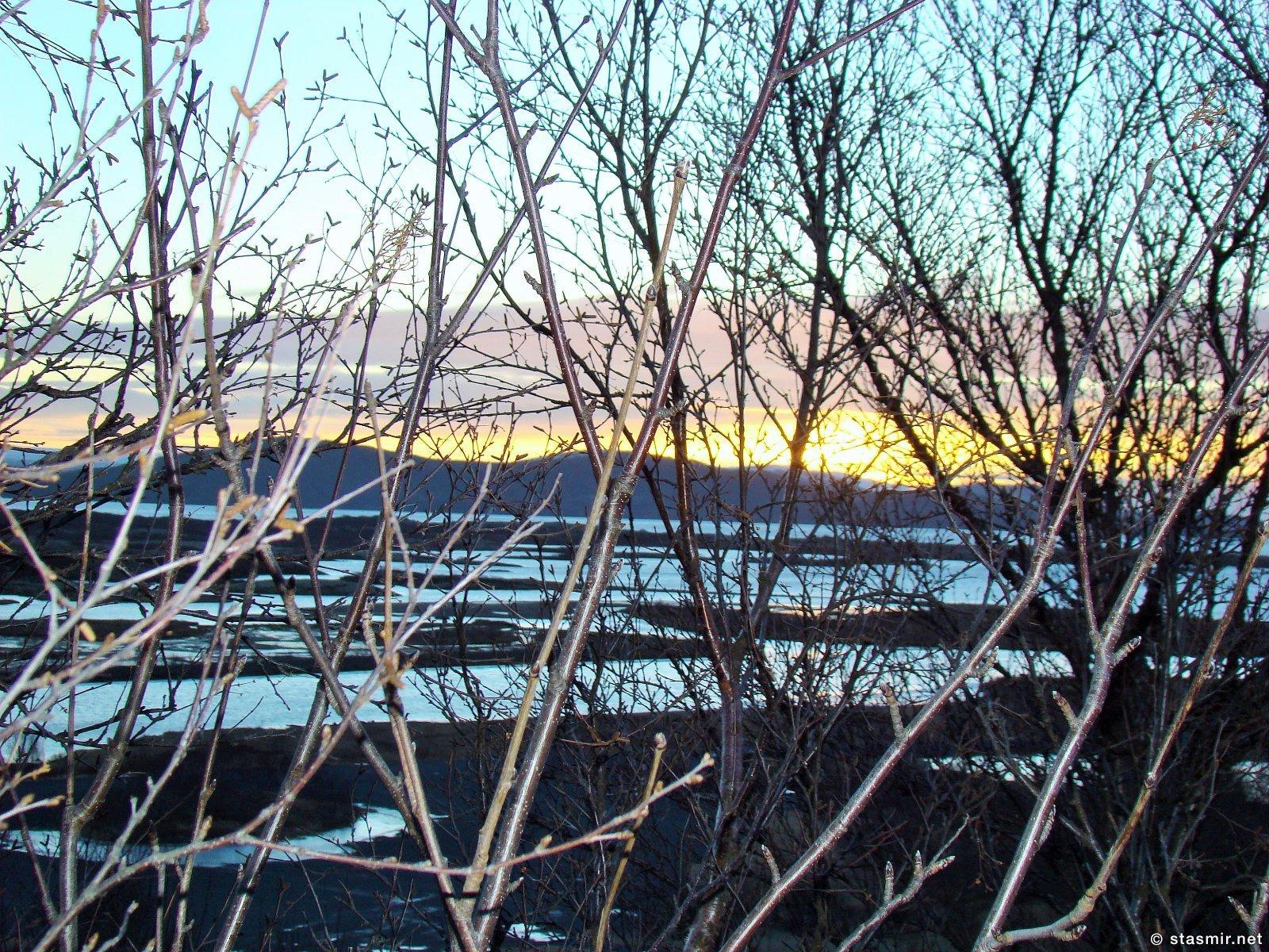 Тингведлир, зимний рассвет в Исландии, фото Стасмир, photo Stasmir