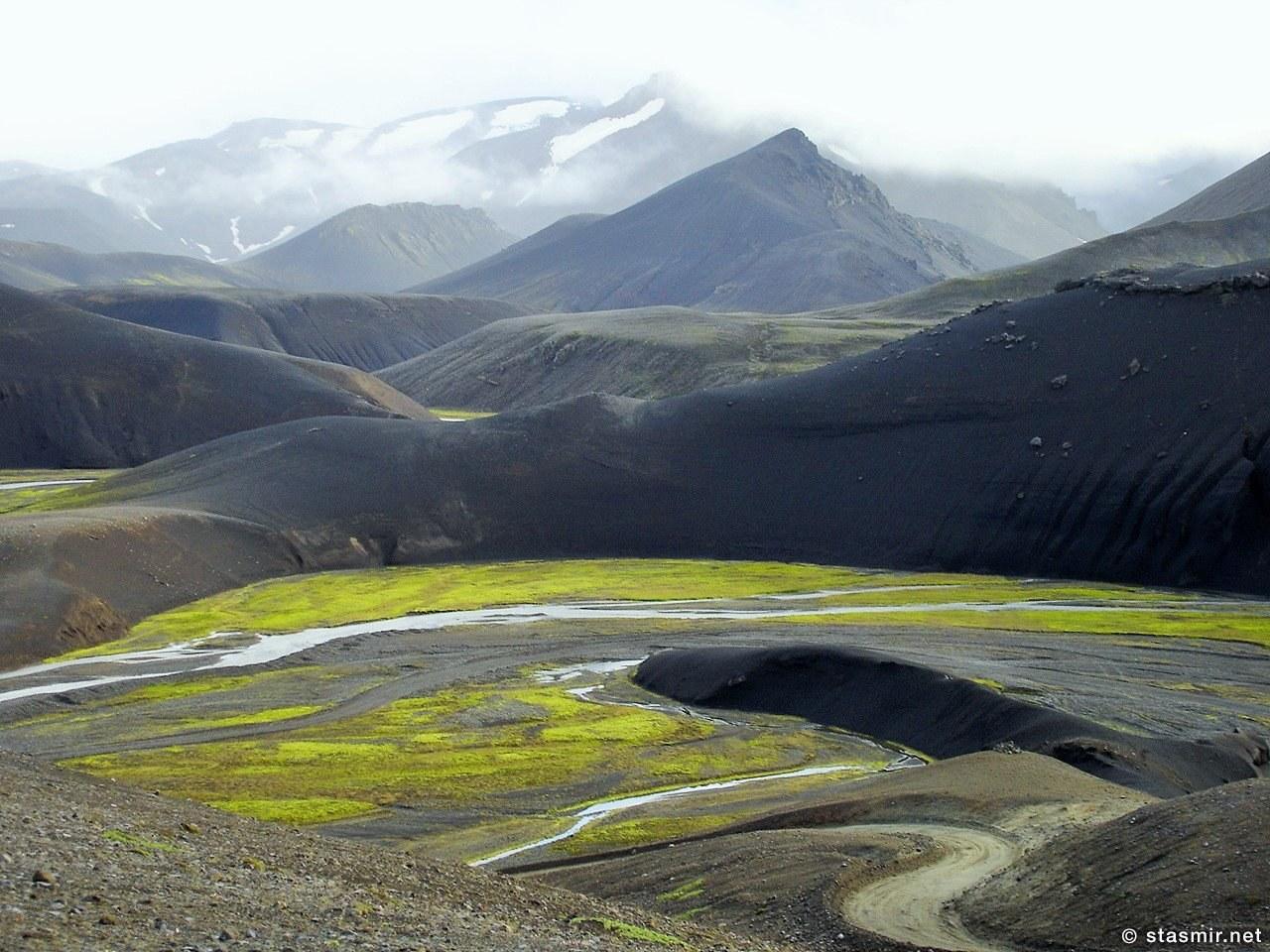 Fjallabaksleið - красивейший путь за горами, фото Стасмир, Photo Stasmir