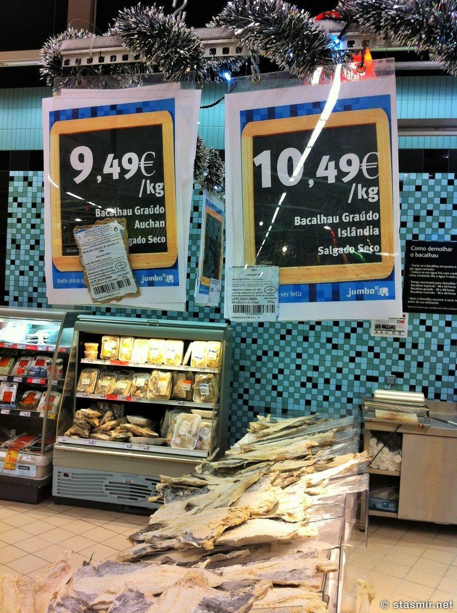 исландская треска в португальском магазине, фото Стасмир, Photo Stasmir