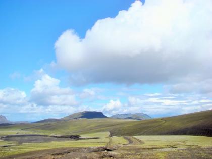 Landmannalaugar, Ландманналёйгар, Лундаманналаугар, джип-сафари, Исландия, фото Стасмир, photo Stasmir, виды высокогорного плато в Исландии