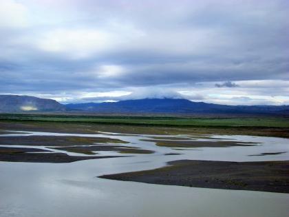 вид на реку Тйоурсау, Landmannalaugar, Ландманналёйгар, Лундаманналаугар, джип-сафари, Исландия, фото Стасмир, photo Stasmir,