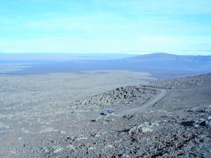 поля лавы с Геклы, Landmannalaugar, Ландманналёйгар, Лундаманналаугар, джип-сафари, Исландия, фото Стасмир, photo Stasmir,