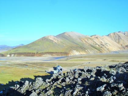 поля лавы на Landmannalaugar, Ландманналёйгар, Лундаманналаугар, джип-сафари, Исландия, фото Стасмир, photo Stasmir,