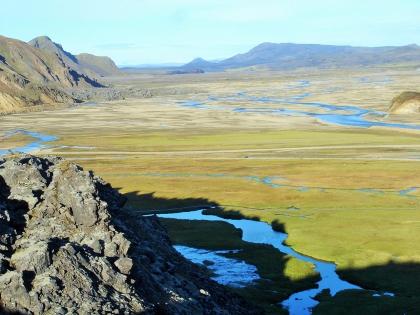 пешие маршруты на Ландманналаугар, Landmannalaugar, Ландманналёйгар, Лундаманналаугар, джип-сафари, Исландия, фото Стасмир, photo Stasmir,