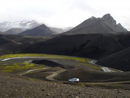 Fjallabaksleið - дорога за горами, Landmannalaugar, Ландманналёйгар, Лундаманналаугар, джип-сафари, Исландия, фото Стасмир, photo Stasmir,