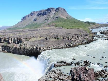 Þjófafoss, водопады по пути к Ландманналаугар, Landmannalaugar, Ландманналёйгар, Лундаманналаугар, джип-сафари, Исландия, фото Стасмир, photo Stasmir,