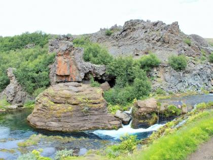базальт, Gjáin, магическая страна водопадов Гйауин, самое красивое место в Исландии, фото Стасмир, photo Stasmir, Landmannalaugar, Ландманналёйгар, базальтовые колонны в Исландии, водопады Исландии