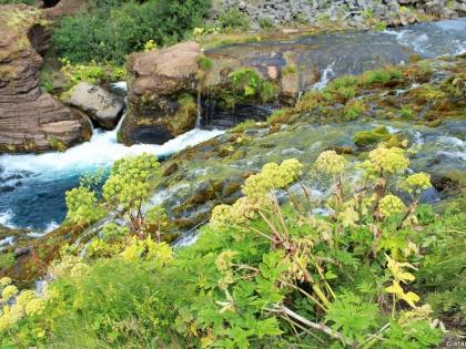 Gjáin, магическая страна водопадов Гйауин, самое красивое место в Исландии, фото Стасмир, photo Stasmir, Landmannalaugar, Ландманналёйгар