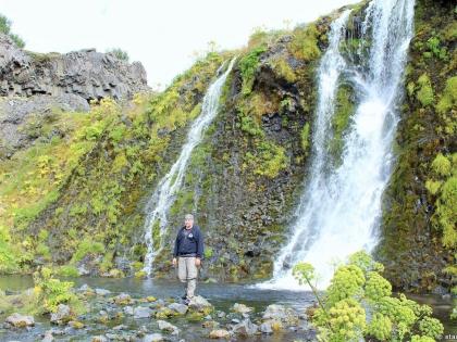 Gjáin, магическая страна водопадов Гйауин, самое красивое место в Исландии, фото Стасмир, photo Stasmir, Landmannalaugar, Ландманналёйгар, базальтовые колонны в Исландии, водопады Исландии, Стасмир, Stasmir, остановка по пути в Ландманналёйгар