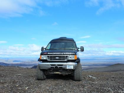 Landmannalaugar, Ландманналёйгар, Лундаманналаугар, джип-сафари, Исландия, фото Стасмир, photo Stasmir, Mountaineers of Iceland, восхождение на гору Гекла, гора Гекла, Исландия, Форд Е350, Mountaineers of Iceland, вид с подножья Геклы