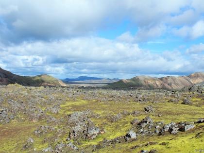 хрёйн - поля лавы, Landmannalaugar, Ландманналёйгар, Лундаманналаугар, джип-сафари, Исландия, фото Стасмир, photo Stasmir, пешие тропы на Ландманналаугар, обсидиан, поля обсидиана