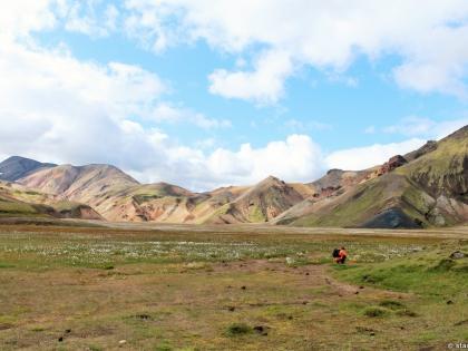 высокогороное плато Ланмманналаугар, Landmannalaugar, Ландманналёйгар, Лундаманналаугар, джип-сафари, Исландия, фото Стасмир, photo Stasmir, риолитоые горы, желтые горы Исландии