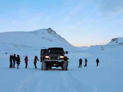 зимнее джип-сафари по Исландии, Landmannalaugar, Ландманналёйгар, Лундаманналаугар, джип-сафари, Исландия, фото Стасмир, photo Stasmir, зимняя Исландия, зимнее джип-сафари на Ландманналёйгар, супер-джип Форд E350, зимние дороги Исландии