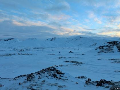 виды Исландии зимой, andmannalaugar, Ландманналёйгар, Лундаманналаугар, джип-сафари, Исландия, фото Стасмир, photo Stasmir, зимняя Исландия, зимняя дорога на Ландманналёйгар