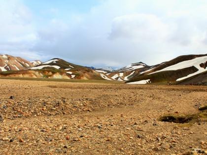 желтые горы Ландманналаугар давным-давно, фото Стасмир, photo Stasmir