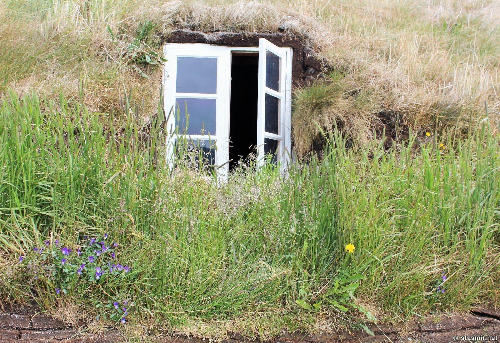Glaumbær - музей традиционных исландских домиков, фото Стасир, photo Stasmir