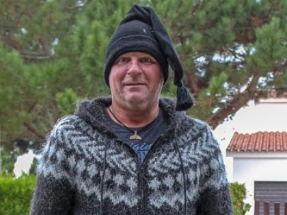 Свитер Lopapeysa из Исландии и шапка из Португалии, Lopapeysur, Icelandic wool, исландская шерсть, лопапейса, фото Стасмир, Stanislav Smirnov, photo Stasmir