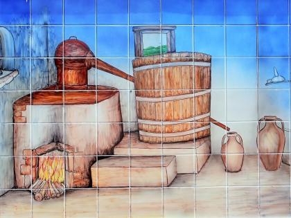 Мармелете, Моншик, музей медрония в мармелете, сбор медрония, азулейжу, фото Стасмир, photo Stasmir