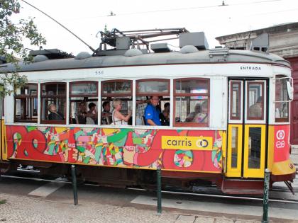Трамвай в Таксим, сорри, Мурарию в Лиссабоне, фото Стасмир, Photo Stasmir