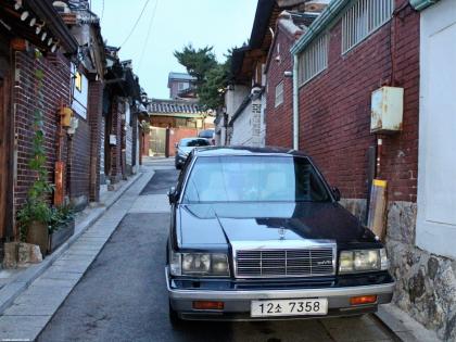 Винтажная машина в Сеуле, Южная Корея, фото Стасмир, Photo Stasmir