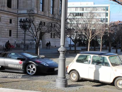Супер Кар и Мини на улицах Франкфурта, фото Стасмир, Photo Stasmir