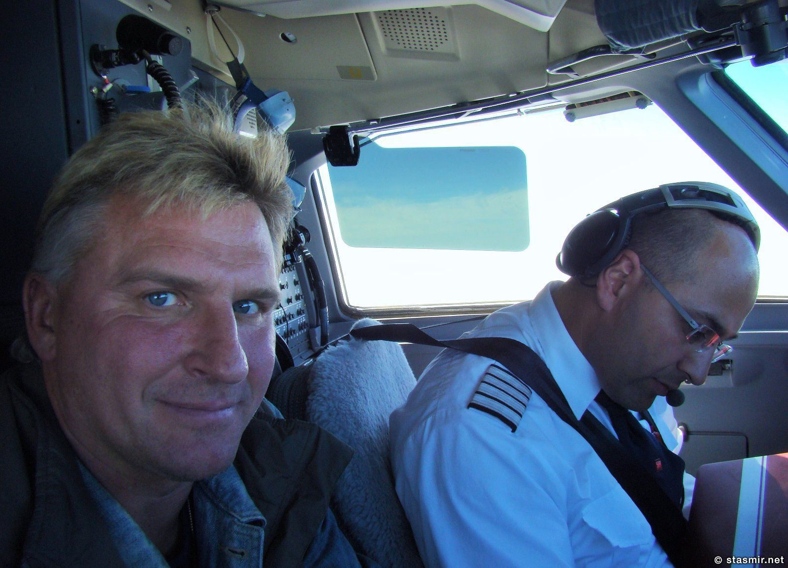 внутри самолета greenland air, photo Stasmir, фото Стасмир