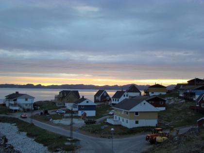 Нуук, столица Гренландии, белые ночи, фото Стасмир, photo Stasmir, белые ночи