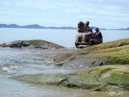 Монумент Матери-Природы в Нууке, Гренландия, фото Стасмир, Photo Stasmir