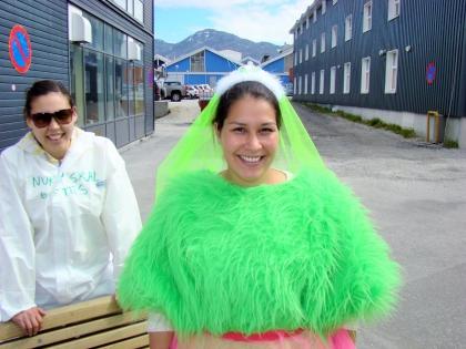 горожанка, Нуук, столица Гренландии, фото Стасмир, Photo Stasmir