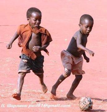 Если бы я был FIFA, я бы отдал им голос на World Cup... Кигома, Бурунди