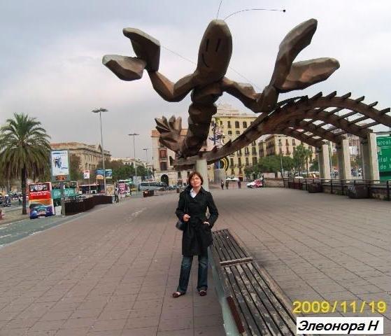 С лангустом в Барселонете