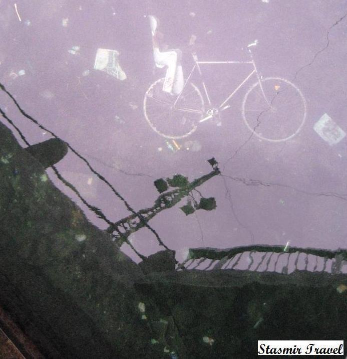 Nyhavn: Летучий бисиклет!