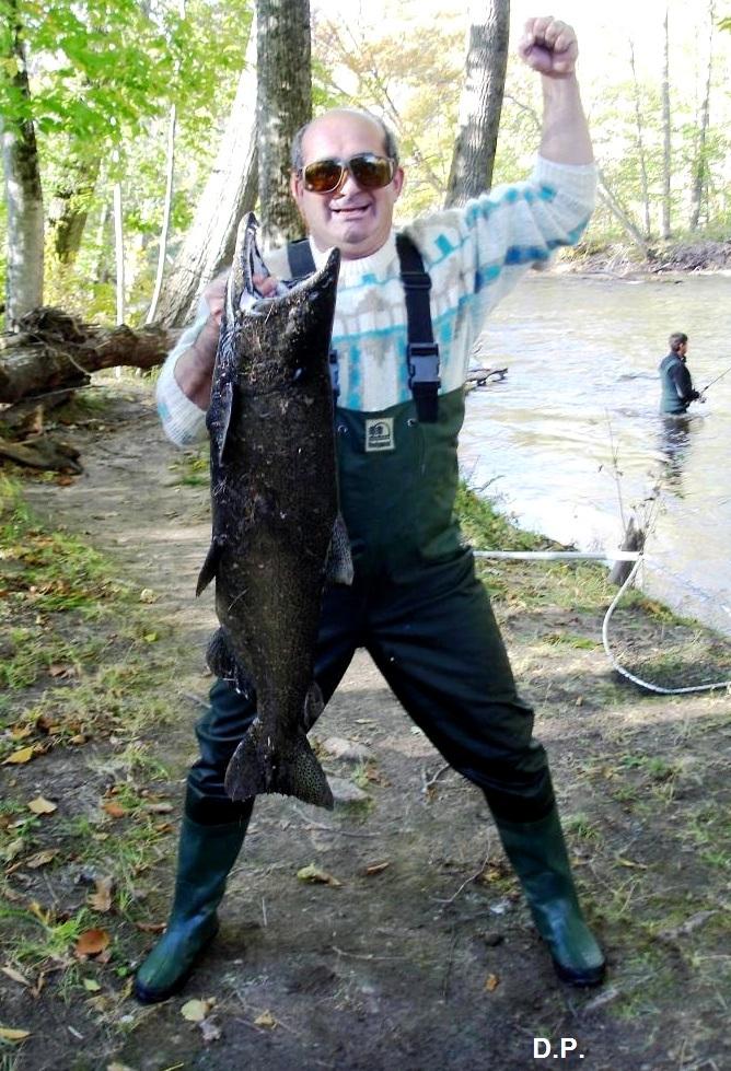 DP, гигантский лосось в США, рыбалка в США, Дмитрий Петров