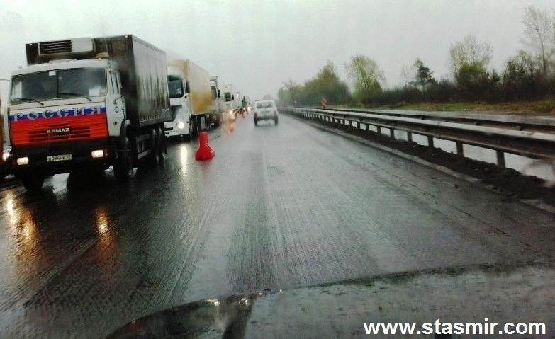 пробка на Московском шоссе, Россия, фото Стасмир, photo stasmir