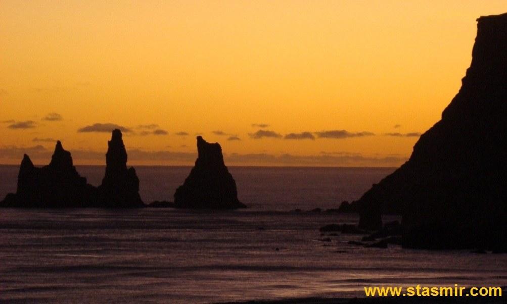 Reynisfjara, South Shore, Южный берег Исландии, photo Stasmir, Фото Стасмир