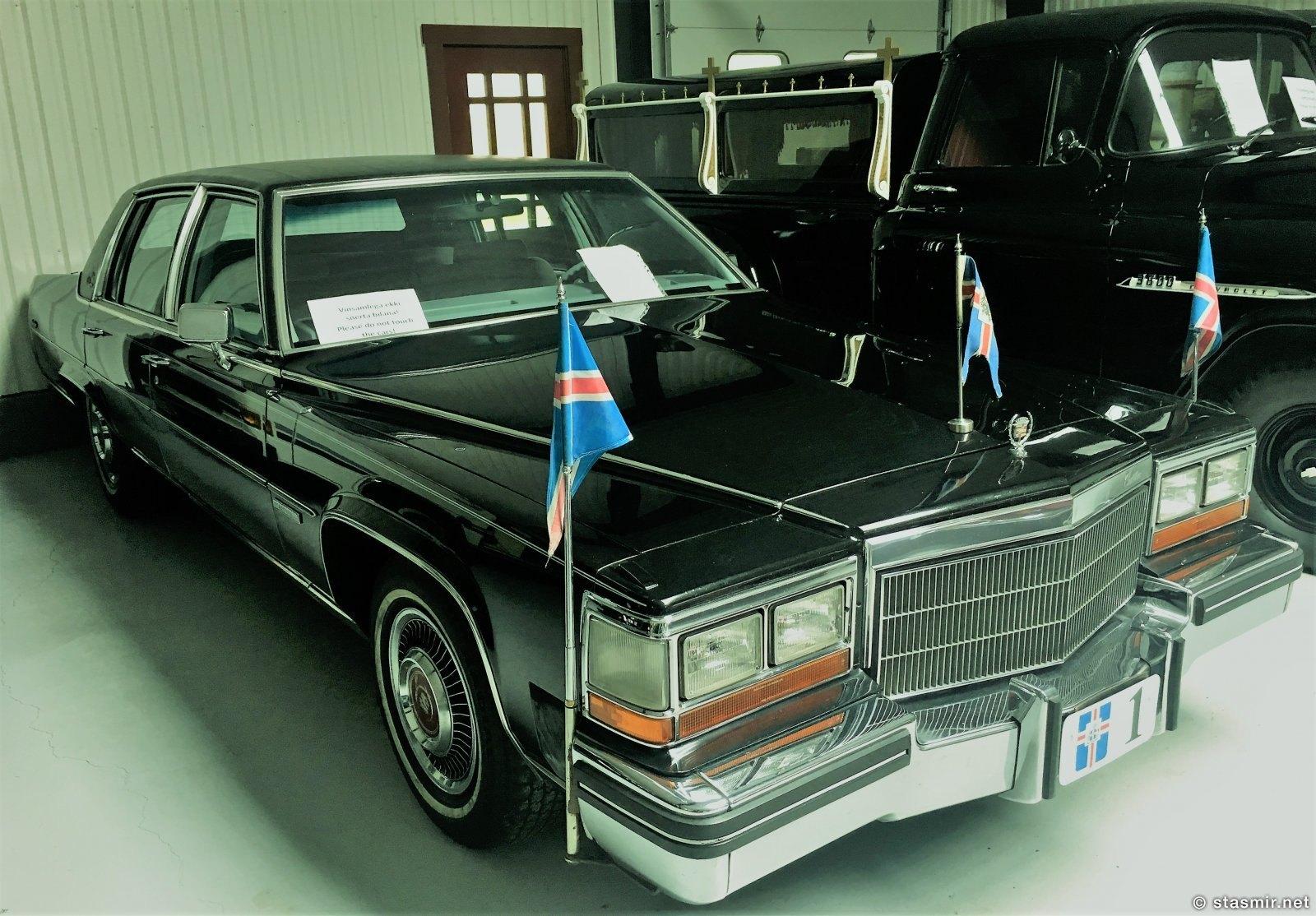 Борт номер один - президентское авто, на котором, как  хорошо помню, возили Вигдис Финнбогадоттир. Сейчас в музее. Фото Стасмир, photo Stasmir