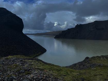 Просто слияние двух рек в высокогорье, фото Стасмир, Photo Stasmir