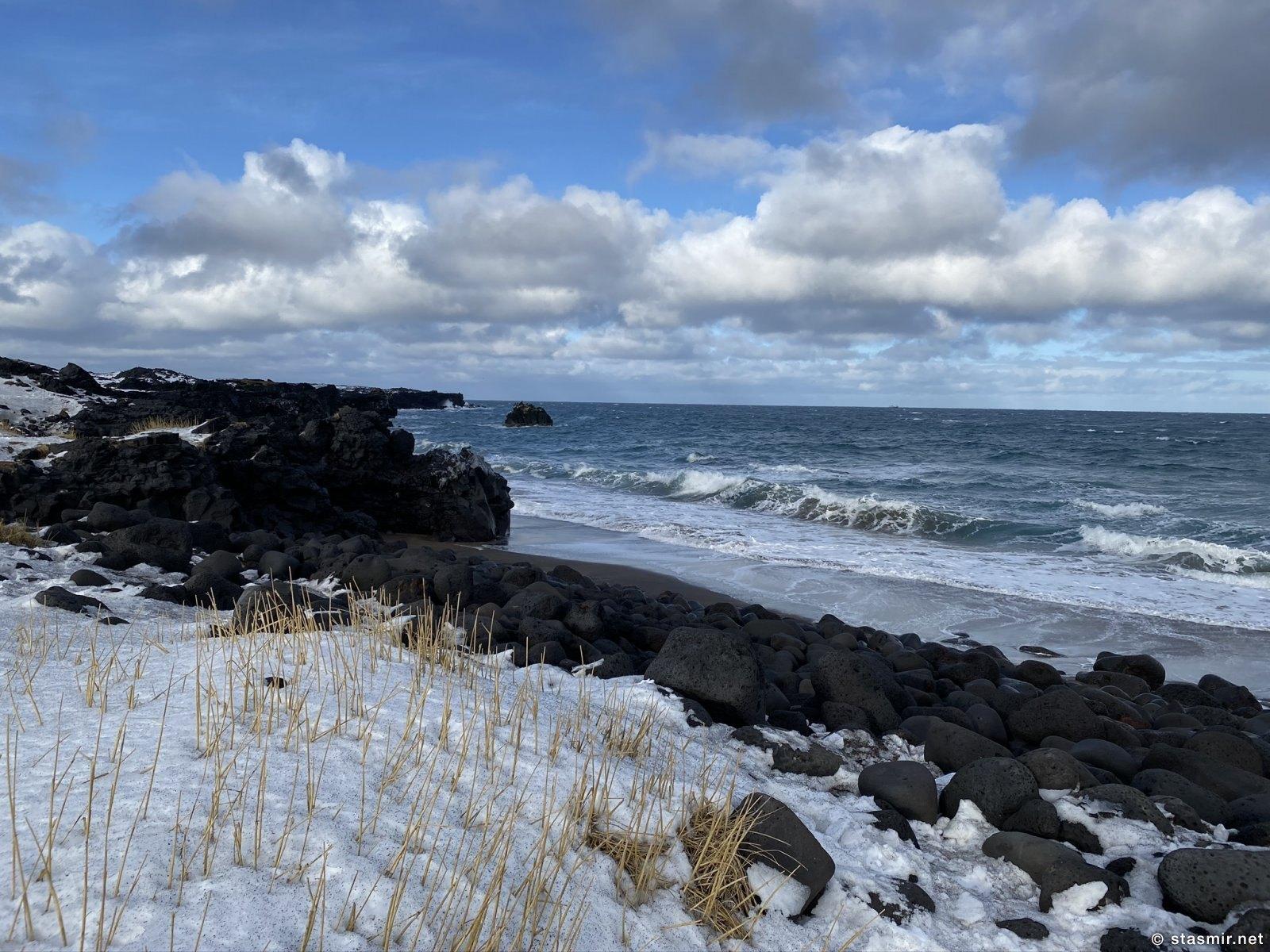 Атлантический океан в Исландии. Снайфедльснес - национальный парк, Фото Стамир, photo Stasmir