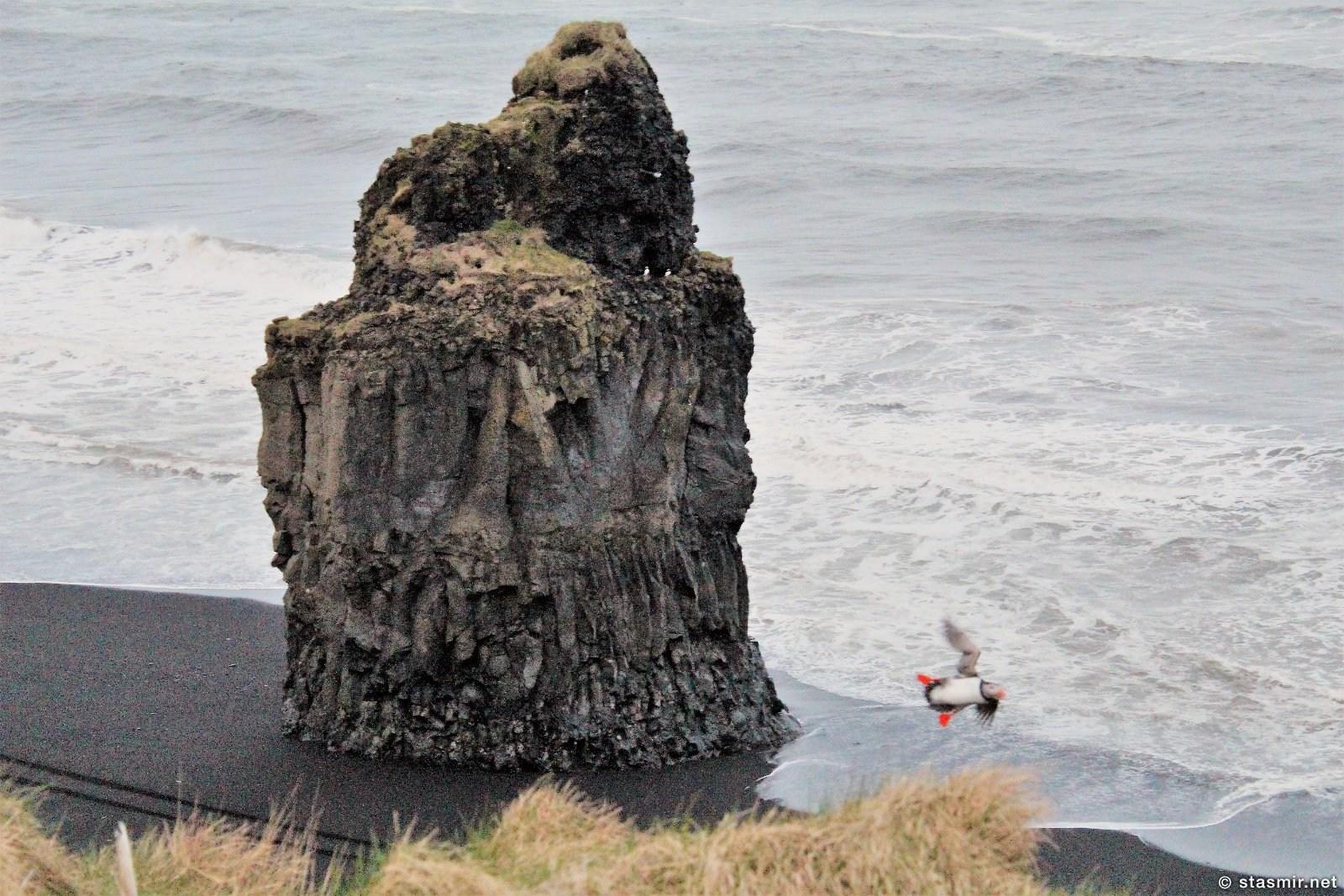 Тупик на вщлете рядом с Виком - самой южной точкой Исландии, фото Стасмир, photo Stasmir