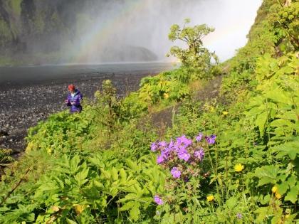 Водопад Скоугафосс  на Южной Берегу Исландии, фото Стасмир, Photo Stasmir