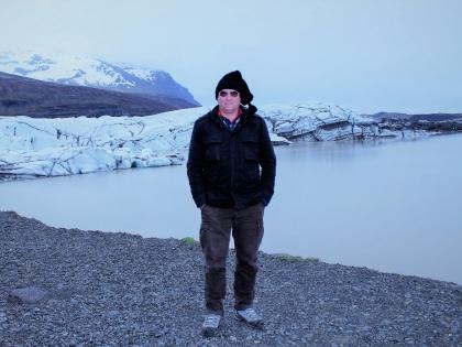 Йёкюльсаурлоун ледниковая лагуна под ледником Ватнайёкудль - самым большим в Исландии и Европе, фото Стасмир, photo Stasir