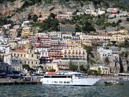 Позитано на Амальфитанском побережье Италии, Фото Стасмир, photo Stasmir