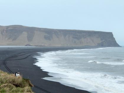тупик, Рейнисфйаура, Черный пляж с тупиками в Исландии, фото Стасмир, photo Stasmir