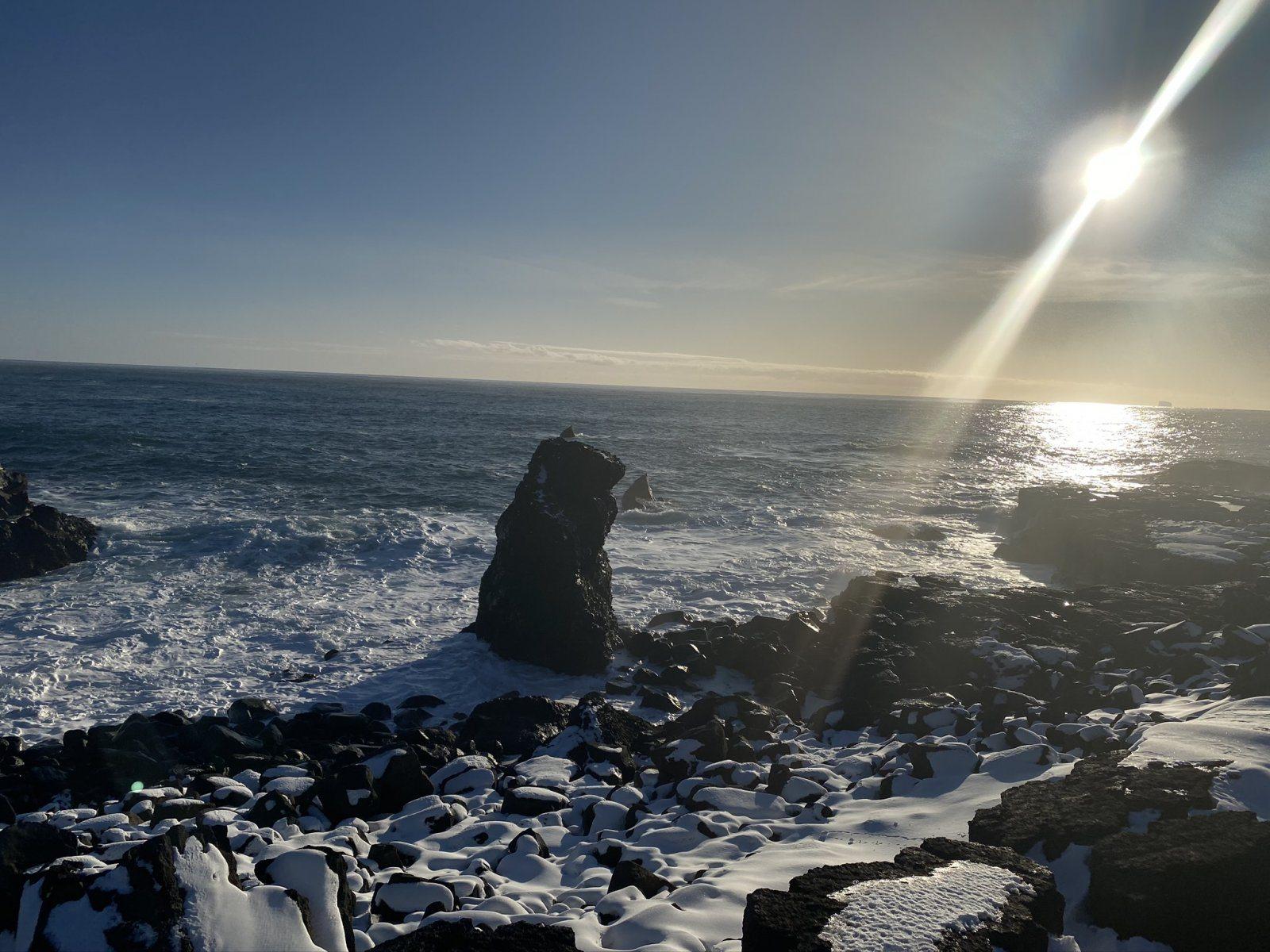 Атлантический океан, полуостров Рейкьянес, фото Стасмир, Photo Stasmir